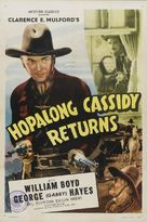 Hopalong Cassidy Returns - Re-release poster (xs thumbnail)