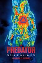 The Predator - Danish Movie Poster (xs thumbnail)