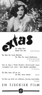 Ekstase - Swedish Movie Poster (xs thumbnail)
