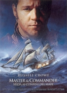 Master and Commander: The Far Side of the World - Italian Movie Poster (xs thumbnail)
