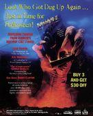Pumpkinhead II: Blood Wings - Video release movie poster (xs thumbnail)