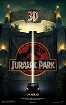 Jurassic Park - Re-release movie poster (xs thumbnail)