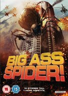Big Ass Spider - British DVD cover (xs thumbnail)