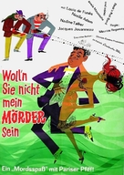 Comme un cheveu sur la soupe - German Movie Poster (xs thumbnail)