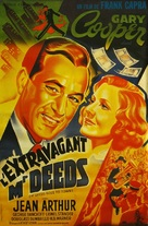 Mr. Deeds Goes to Town - French Movie Poster (xs thumbnail)