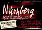 Nürnberg und seine Lehre - German Movie Poster (xs thumbnail)