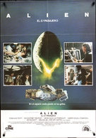 Alien - Spanish Movie Poster (xs thumbnail)