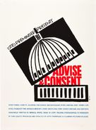 Advise & Consent - Movie Poster (xs thumbnail)