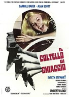 Il coltello di ghiaccio - Italian Movie Poster (xs thumbnail)