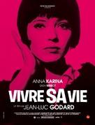 Vivre sa vie: Film en douze tableaux - French Movie Poster (xs thumbnail)