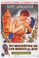 His Majesty O'Keefe - Argentinian Movie Poster (xs thumbnail)