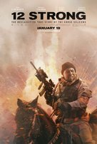12 Strong - Movie Poster (xs thumbnail)