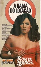 A Dama do Lotação - Brazilian VHS cover (xs thumbnail)
