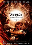 Immortals - Argentinian Movie Poster (xs thumbnail)