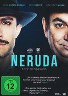 Neruda - German DVD movie cover (xs thumbnail)