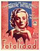 Dishonored - Spanish Movie Poster (xs thumbnail)