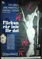 The Girl Can't Help It - Swedish Movie Poster (xs thumbnail)