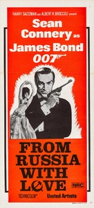 From Russia with Love - Australian Movie Poster (xs thumbnail)