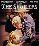 The Spoilers - Blu-Ray movie cover (xs thumbnail)