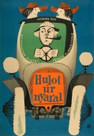 Les vacances de Monsieur Hulot - Hungarian Movie Poster (xs thumbnail)