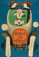 Les vacances de Monsieur Hulot - Hungarian Movie Poster (xs thumbnail)
