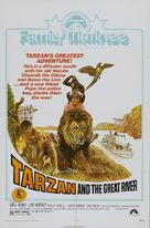 Tarzan and the Great River - Movie Poster (xs thumbnail)