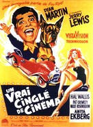 Hollywood or Bust - French Movie Poster (xs thumbnail)