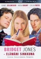 Bridget Jones's Diary - Finnish Movie Cover (xs thumbnail)