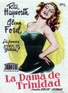 Affair in Trinidad - Spanish Movie Poster (xs thumbnail)