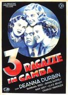 Three Smart Girls - Italian Movie Poster (xs thumbnail)