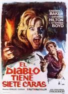 Il diavolo a sette facce - Spanish Movie Poster (xs thumbnail)