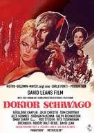 Doctor Zhivago - German Movie Poster (xs thumbnail)