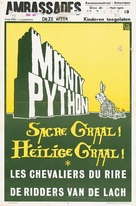 Monty Python and the Holy Grail - Belgian Movie Poster (xs thumbnail)