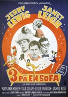 Three on a Couch - Danish Movie Poster (xs thumbnail)