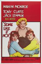 Some Like It Hot - Movie Poster (xs thumbnail)