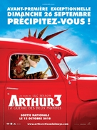 Arthur et la guerre des deux mondes - French Movie Poster (xs thumbnail)