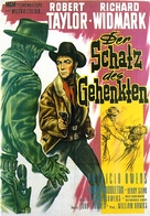 The Law and Jake Wade - German Movie Poster (xs thumbnail)