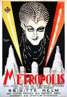Metropolis - Swedish Movie Poster (xs thumbnail)