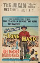The Lone Hand - Movie Poster (xs thumbnail)