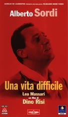 Una vita difficile - Italian VHS cover (xs thumbnail)
