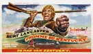The Kentuckian - Belgian Movie Poster (xs thumbnail)