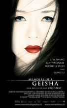 Memoirs of a Geisha - Swiss Movie Poster (xs thumbnail)