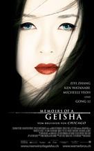 Memoirs of a Geisha - Swiss Movie Poster (xs thumbnail)