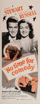 No Time for Comedy - Movie Poster (xs thumbnail)