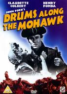 Drums Along the Mohawk - British DVD movie cover (xs thumbnail)