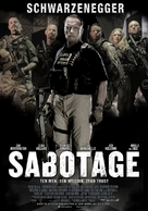 Sabotage - Polish Movie Poster (xs thumbnail)