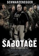 Sabotage - Polish Movie Poster (xs thumbnail)