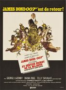 On Her Majesty's Secret Service - French Movie Poster (xs thumbnail)
