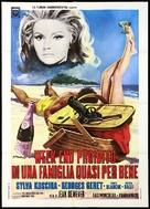 Les jambes en l'air - Italian Movie Poster (xs thumbnail)