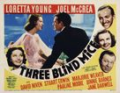 Three Blind Mice - Movie Poster (xs thumbnail)